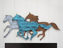 rustic wall art for the horse lover