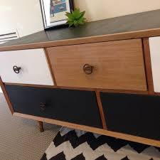 blonde wood bedroom furniture appealing upcycled furniture retro modern chest of drawers blonde