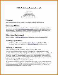 Professional Telecommunications Technician Resume Resume Resource