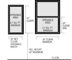 When Did They Start Requiring Egress Windows In Basement Bedrooms Delectable Egress Requirements For Bedroom Windows