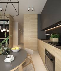A small apartment need not obstruct style. These four spaces under create  characterful and contemporary living areas. White walls meet light wood  with ar