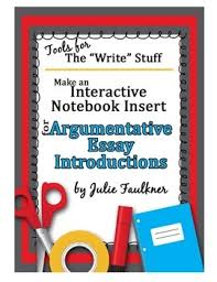 interactive notebook insert writing introductions for interactive notebook insert writing introductions for argumentative essays