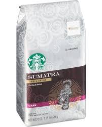 starbucks coffee bag dark. Delighful Dark Starbucks  Dark Sumatra SingleOrigin Ground Coffee 20 Oz Bag On F