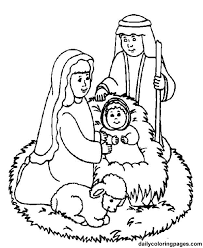 Small Picture nativity characters free printouts nativity scene bible coloring