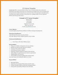 Old Fashioned My First Resume Template Inspiration Simple Cover Teen