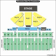 State Fair Seating Chart Mn 66 Memorable Iowa State Grandstand Seating Chart