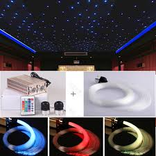 home theater ceiling lighting. high power 32w fiber optical star ceiling light for home theater cinema decoration 2 x 500 points 4 meter lighting r