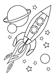 Free Printable Coloring Pages Spaceship Coloring