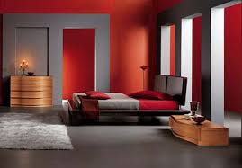 17 Divine Combinations Of Red & Grey In The Bedroom