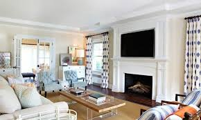 this mantle is gorgeous white wood that encases a large fireplace it moves upwards to
