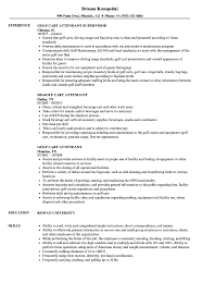 Golf Cart Attendant Resume Samples | Velvet Jobs