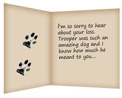 Card For Loss Of Pet Tips On Writing A Pet Loss Condolence Note Healing The Heart
