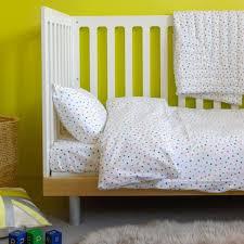 multicolour star duvet set cot bed