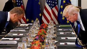 بروكسل - توسك: تباين في مواقف ترامب والاتحاد الأوروبي من روسيا والتجارة والمناخ