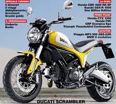 possibly a 400 c c variant of the ducati scrambler will follow