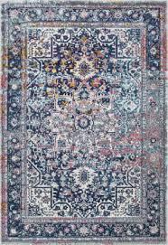 nuloom persian vintage raylene pink area rug