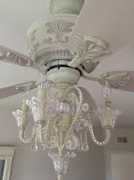 willpower ceiling fan with chandelier for girl com crystal bead candelabra antique white light
