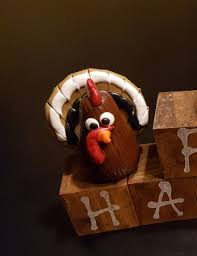 Miniature Tiny Turkey Handcrafted Mini Perfect for Q'b-itz, Fairy Gardens  and Dollhouses