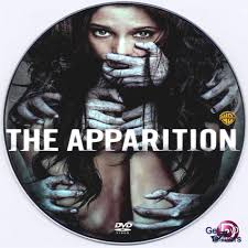 The Apparition (2012) R0 Custom DVD Label - Movie DVD - CD Cover
