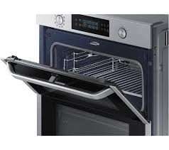 samsung dual cook flex nv75n5641rs electric oven stainless steel