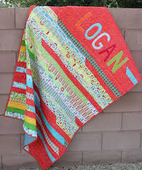 jelly roll quilts | Appliqued Jelly Roll Race Quilt | Sewing ... & Fabric Fest and a Rolie Polie Giveaway! Adamdwight.com