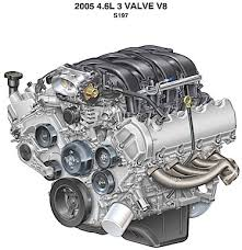 ford 4 6l sohc dohc engines service issues in 1993 a four valves per cylinder 4v high output version of the 4 6l v8 dual overhead cams and an aluminum block was produced for the lincoln mark