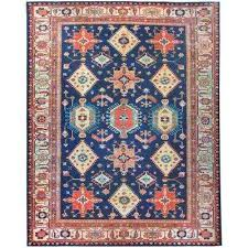 washable noor sapphire 8 ft x 10 ft stain resistant area rug