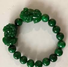 <b>Wholesale</b> Dry <b>Green Natural Stone</b> Bracelets 10mm Round Bead ...