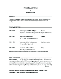 10 Resume Examples With Objective Statement Resume Samples