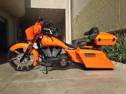 custom choper orange audio gallery inc
