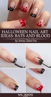 7 Super Easy Halloween Nail Art Ideas | NailDesignsJournal.com