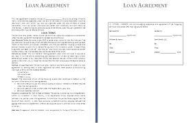 Free Loan Agreement sample loan agreement template free loan agreement template e 21