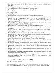 Mainframe Resume Cobol Programmer Resume Cobol Programmer Resume