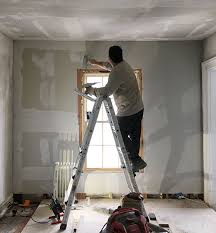 that i am kind of a crazy person if you re new here consider this your warning so even though it s totally abnormal i think skim coating drywall is