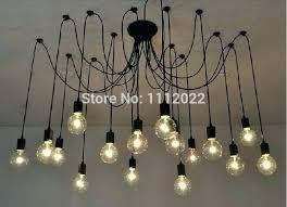 retro hanging lamps hanging bulb chandelier new vintage pendant lamps loft retro bulbs chandelier lamp hanging