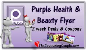 Delivering products from abroad is always free, however, your parcel. Publix Purple Health Beauty Sale Flyer For 12 20 To 1 2 15