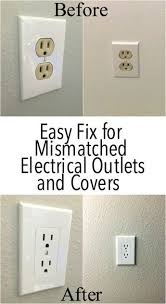modern outlet covers. Modren Modern My House Has The Old Almond Colored Electrical Outlets Such A Better  Updated Modern Look Thanks So Much For Tip On Modern Outlet Covers O