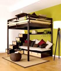 Cool Bedrooms With Bunk Beds Loft Bed Ideas For Small Rooms Gucobacom