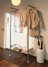 Plumbing Pipe Coat Rack 100 Stylish DIY Clothing Racks Plumbing pipe Coat racks and Shelving 39