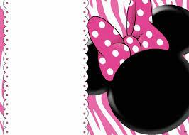 Free Printable Minnie Mouse 1st Birthday Invitation Bagvania Free