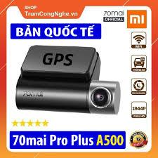 Camera hành trình ô tô 70mai Dash Cam Pro Plus A500 Siêu Nét 1944P Tích hợp  sẵn GPS, Tốc Độ Km/h