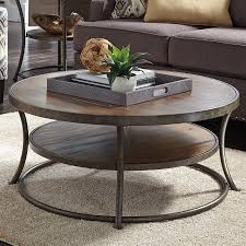 round rustic coffee table shapes