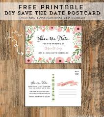 11 Beautiful And Free Save The Date Templates In 2019 Diy