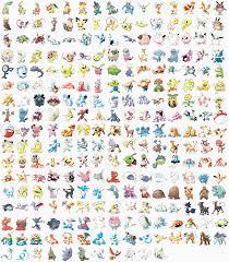 Johto Pokedex Sugimori Art Collage - Pokémon photo (39592950) - fanpop