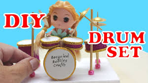 how to make a mini drum set for desk kids diy projects recycled bottles crafts ideas