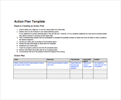 10+ Sample Action Plans | Sample Templates