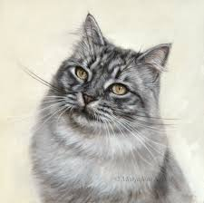 30x30 cm oil painting sold commission
