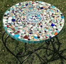 DIY Outdoor Table Ideas For Garden Improvement Jeffrey Court Mosaic Tile