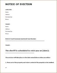 30 day eviction notice forms 30 60 day termination of tenancy notice free eviction forms 30