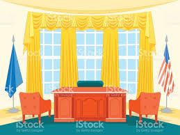 president office furniture. Cartoon Interior President Government Office With Furniture. Vector Royalty-free Furniture